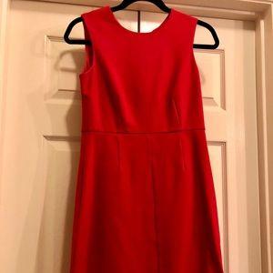 Charles Henry Hot Pink Strapless Dress